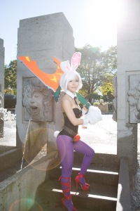 battle bunny riven by Miyuki Cosplay, photography by Wilson Lau